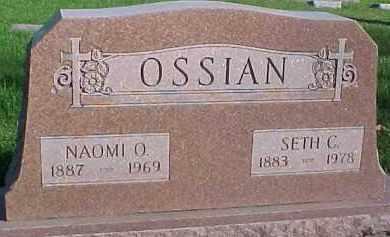 OSSIAN, SETH C. - Dixon County, Nebraska | SETH C. OSSIAN - Nebraska Gravestone Photos