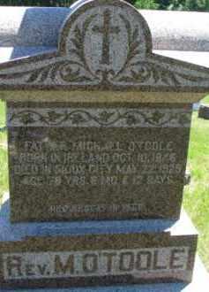 O'TOOLE, REV. MICHAEL - Dixon County, Nebraska | REV. MICHAEL O'TOOLE - Nebraska Gravestone Photos