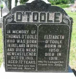 O'TOOLE, THOMAS - Dixon County, Nebraska   THOMAS O'TOOLE - Nebraska Gravestone Photos