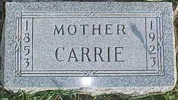 OVERBOE, CARRIE - Dixon County, Nebraska | CARRIE OVERBOE - Nebraska Gravestone Photos