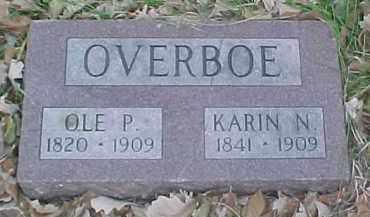 OVERBOE, KARIN N. - Dixon County, Nebraska | KARIN N. OVERBOE - Nebraska Gravestone Photos