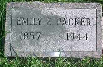 PACKER, EMILY E. - Dixon County, Nebraska | EMILY E. PACKER - Nebraska Gravestone Photos