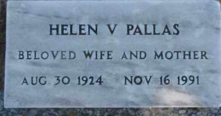PALLAS, HELEN V. - Dixon County, Nebraska   HELEN V. PALLAS - Nebraska Gravestone Photos