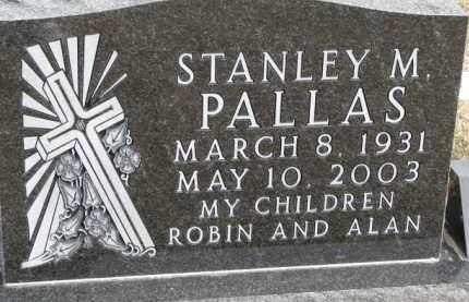 PALLAS, STANLEY M. - Dixon County, Nebraska | STANLEY M. PALLAS - Nebraska Gravestone Photos