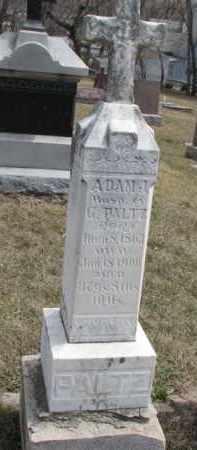 PALTZ, ADAM J. - Dixon County, Nebraska | ADAM J. PALTZ - Nebraska Gravestone Photos