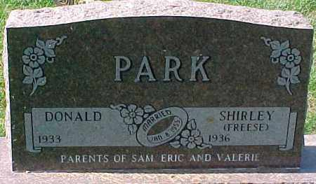 PARK, SHIRLEY - Dixon County, Nebraska | SHIRLEY PARK - Nebraska Gravestone Photos