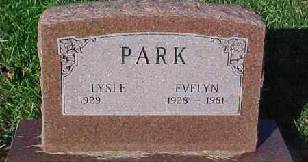 PARK, EVELYN - Dixon County, Nebraska | EVELYN PARK - Nebraska Gravestone Photos