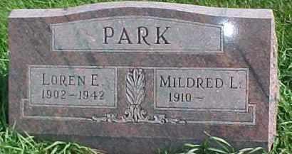 PARK, MILDRED L. - Dixon County, Nebraska | MILDRED L. PARK - Nebraska Gravestone Photos
