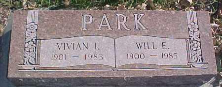 PARK, WILL E. - Dixon County, Nebraska   WILL E. PARK - Nebraska Gravestone Photos