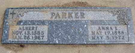 PARKER, ALBERT - Dixon County, Nebraska | ALBERT PARKER - Nebraska Gravestone Photos