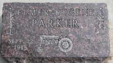 PARKER, ELMER EUGENE - Dixon County, Nebraska | ELMER EUGENE PARKER - Nebraska Gravestone Photos
