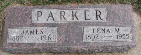 PARKER, LENA M. - Dixon County, Nebraska   LENA M. PARKER - Nebraska Gravestone Photos