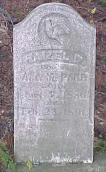 PARR, HAZEL O. - Dixon County, Nebraska | HAZEL O. PARR - Nebraska Gravestone Photos