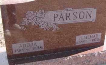 PARSON, HJALMAR - Dixon County, Nebraska | HJALMAR PARSON - Nebraska Gravestone Photos