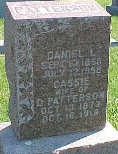 PATTERSON, DANIEL L. - Dixon County, Nebraska | DANIEL L. PATTERSON - Nebraska Gravestone Photos