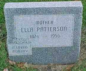 PATTERSON, ELLA - Dixon County, Nebraska | ELLA PATTERSON - Nebraska Gravestone Photos