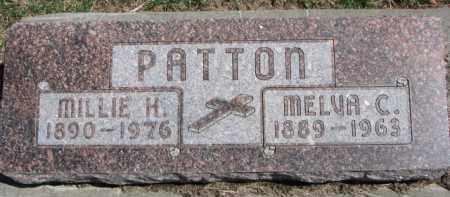 PATTON, MELVA C. - Dixon County, Nebraska | MELVA C. PATTON - Nebraska Gravestone Photos
