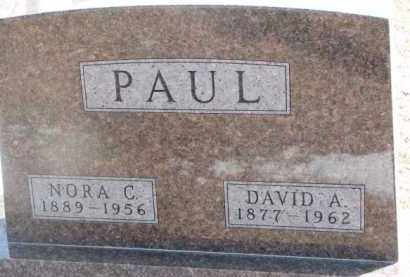 PAUL, NORA C. - Dixon County, Nebraska | NORA C. PAUL - Nebraska Gravestone Photos