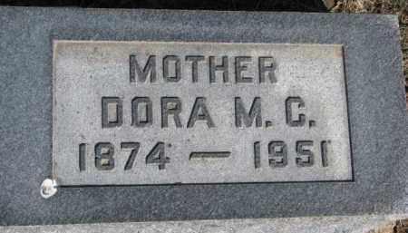 PAULSEN, DORA M.C. - Dixon County, Nebraska | DORA M.C. PAULSEN - Nebraska Gravestone Photos