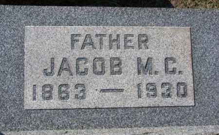 PAULSEN, JACOB M.C. - Dixon County, Nebraska | JACOB M.C. PAULSEN - Nebraska Gravestone Photos