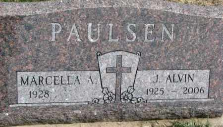 PAULSEN, MARCELLA A. - Dixon County, Nebraska | MARCELLA A. PAULSEN - Nebraska Gravestone Photos