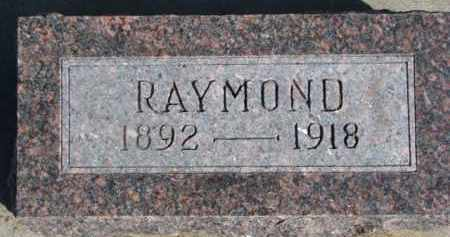 PEARCE, RAYMOND - Dixon County, Nebraska | RAYMOND PEARCE - Nebraska Gravestone Photos
