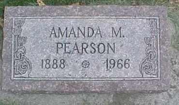 PEARSON, AMANDA M. - Dixon County, Nebraska | AMANDA M. PEARSON - Nebraska Gravestone Photos