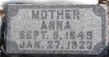 PEARSON, ANNA - Dixon County, Nebraska | ANNA PEARSON - Nebraska Gravestone Photos
