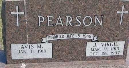 PEARSON, AVIS M. - Dixon County, Nebraska | AVIS M. PEARSON - Nebraska Gravestone Photos