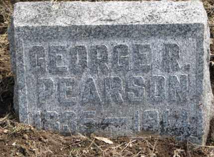 PEARSON, GEORGE R. - Dixon County, Nebraska   GEORGE R. PEARSON - Nebraska Gravestone Photos