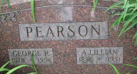 PEARSON, A. LILLIAN - Dixon County, Nebraska | A. LILLIAN PEARSON - Nebraska Gravestone Photos