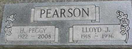 PEARSON, LLOYD J. - Dixon County, Nebraska | LLOYD J. PEARSON - Nebraska Gravestone Photos
