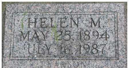 PEARSON, HELEN M. - Dixon County, Nebraska | HELEN M. PEARSON - Nebraska Gravestone Photos