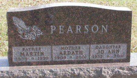 PEARSON, ARDATH - Dixon County, Nebraska | ARDATH PEARSON - Nebraska Gravestone Photos