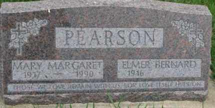PEARSON, ELMER BERNARD - Dixon County, Nebraska | ELMER BERNARD PEARSON - Nebraska Gravestone Photos