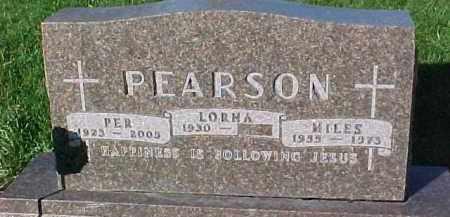 PEARSON, PER - Dixon County, Nebraska | PER PEARSON - Nebraska Gravestone Photos