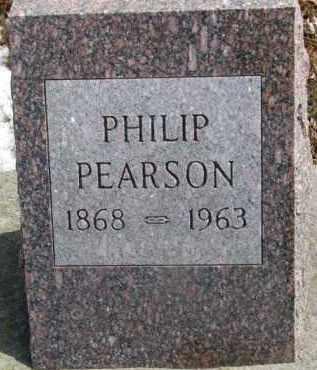 PEARSON, PHILIP - Dixon County, Nebraska | PHILIP PEARSON - Nebraska Gravestone Photos