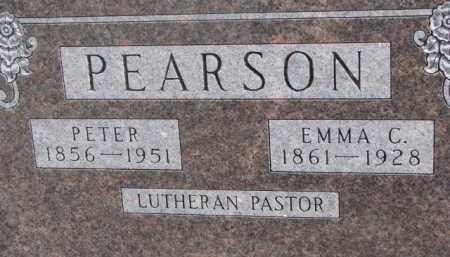 PEARSON, PETER - Dixon County, Nebraska | PETER PEARSON - Nebraska Gravestone Photos