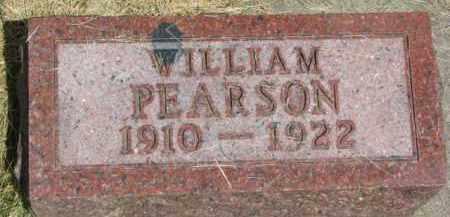 PEARSON, WILLIAM - Dixon County, Nebraska | WILLIAM PEARSON - Nebraska Gravestone Photos