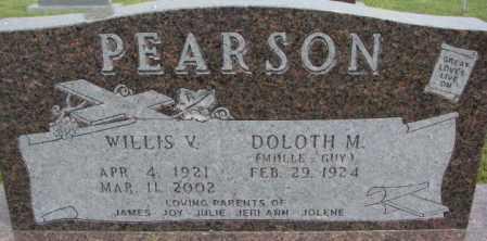 PEARSON, WILLIS V. - Dixon County, Nebraska   WILLIS V. PEARSON - Nebraska Gravestone Photos