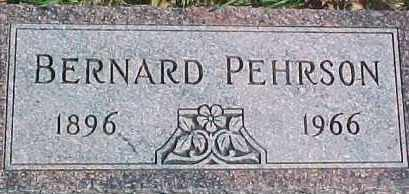 PEHRSON, BERNARD - Dixon County, Nebraska | BERNARD PEHRSON - Nebraska Gravestone Photos