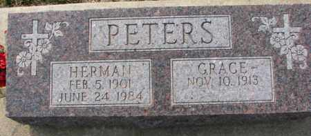 PETERS, GRACE - Dixon County, Nebraska | GRACE PETERS - Nebraska Gravestone Photos