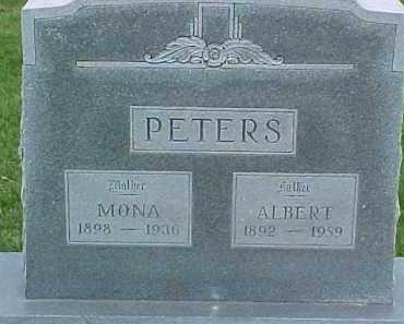 PETERS, ALBERT - Dixon County, Nebraska | ALBERT PETERS - Nebraska Gravestone Photos