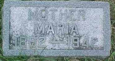 PETERSON, MARIA - Dixon County, Nebraska | MARIA PETERSON - Nebraska Gravestone Photos