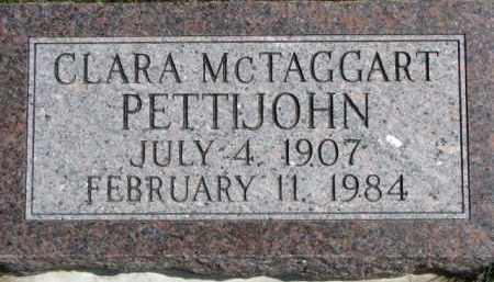 PETTIJOHN, CLARA - Dixon County, Nebraska | CLARA PETTIJOHN - Nebraska Gravestone Photos