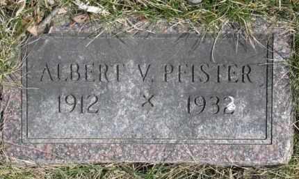 PFISTER, ALBERT V. - Dixon County, Nebraska | ALBERT V. PFISTER - Nebraska Gravestone Photos