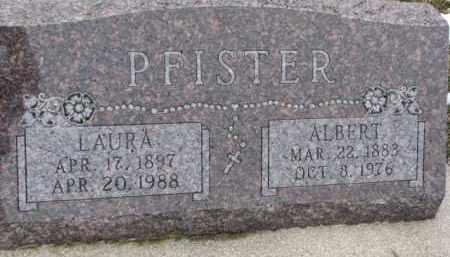 PFISTER, ALBERT - Dixon County, Nebraska | ALBERT PFISTER - Nebraska Gravestone Photos