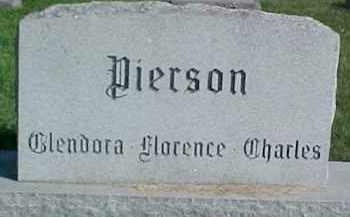 PIERSON, CHARLES C. - Dixon County, Nebraska | CHARLES C. PIERSON - Nebraska Gravestone Photos