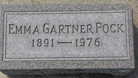 GARTNER POCK, EMMA - Dixon County, Nebraska | EMMA GARTNER POCK - Nebraska Gravestone Photos