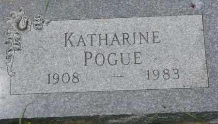 POGUE, KATHARINE - Dixon County, Nebraska | KATHARINE POGUE - Nebraska Gravestone Photos
